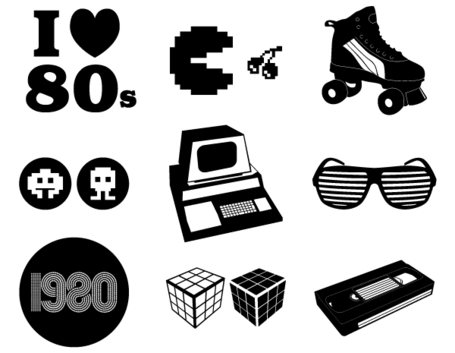 retro-vector-80-s-elements-26344