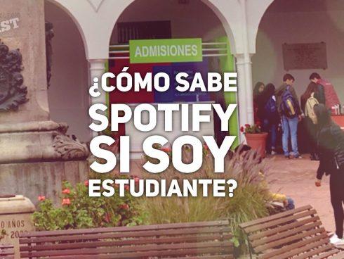- Buenas ¿a cómo Spotify? - A 15 mil - ¿y con carné de estudiante?