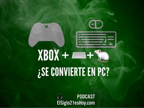 Xbox con ratón y teclado