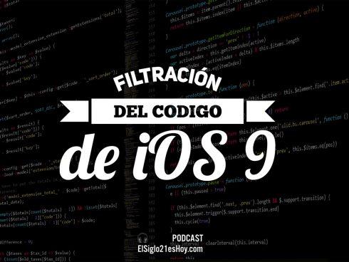 Código de iOS 9 filtrado