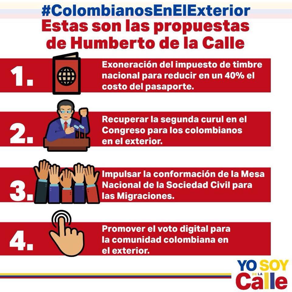 La Propuesta Presidencial Para Los Colombianos En El Exterior Blogs El Tiempo