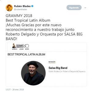 Tweet Ruben Blades