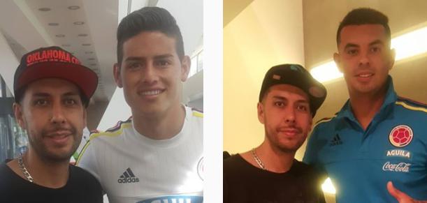 Tatuador de la Selección Colombia
