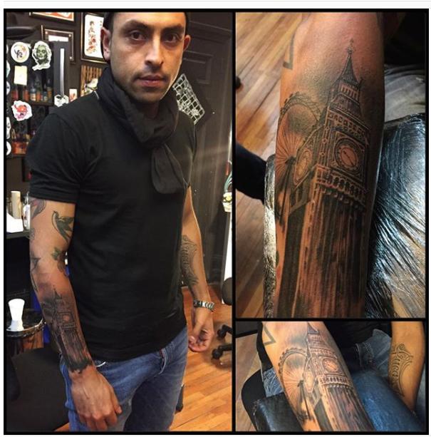 Tatuaje Gonzalo Jara