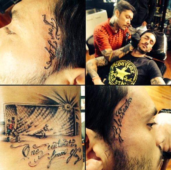 tatuador del futbol chileno