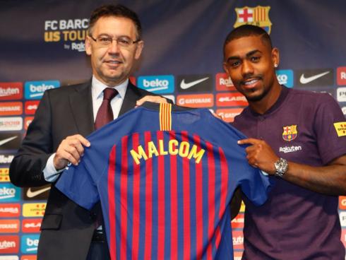 Malcom fichaje Barcelona