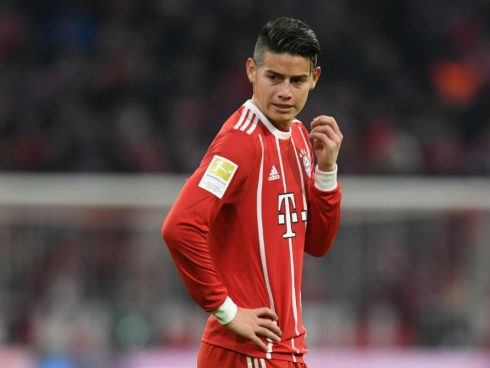 James Rodríguez, Bayern de Múnich, Real Madrid, Bundesliga