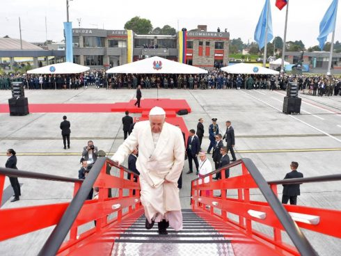 pope in colombia 12