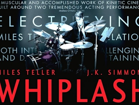 Whiplash (2014), ganadora de tres Óscars, es el segundo largometraje dirigido por Damien Chazelle