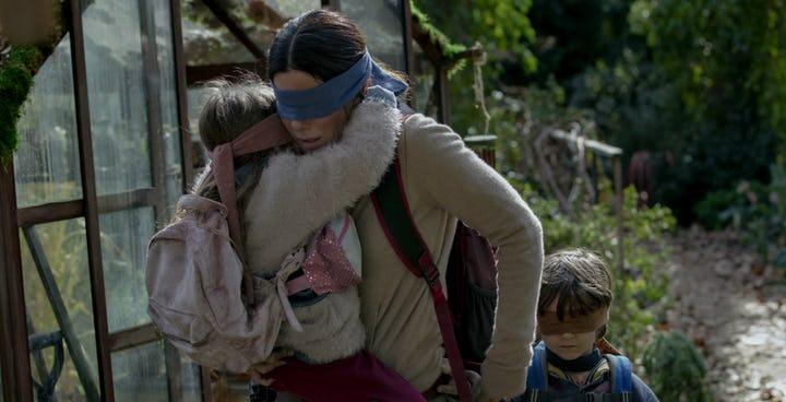Quebec pide retirar imágenes de la película Bird Box