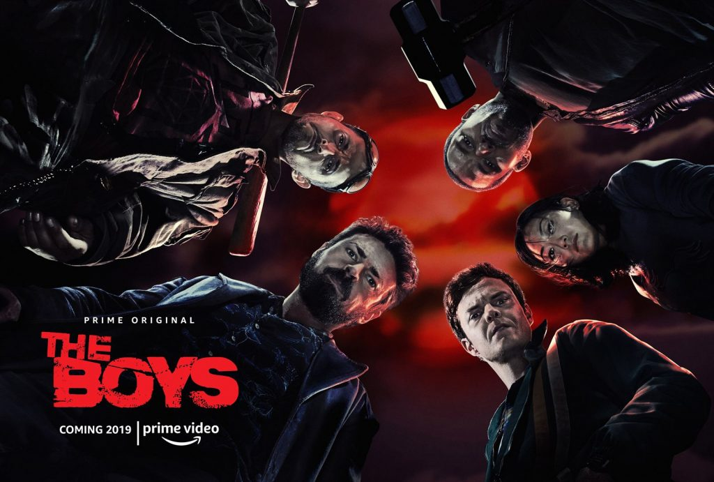 Póster público de la serie The Boys ( Amazon Prime Video).