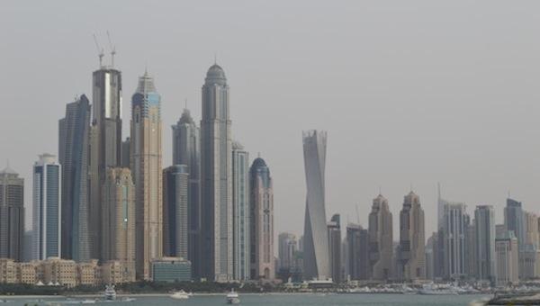 La arquitectónica Skyline multiforme