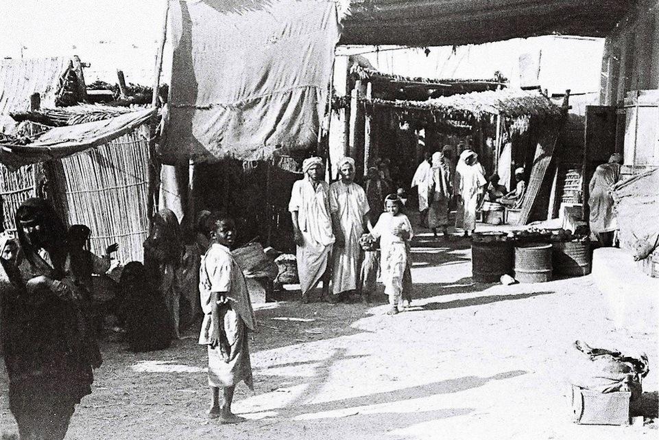 Inicios del souq de Abu Dhabi: día de compras.
