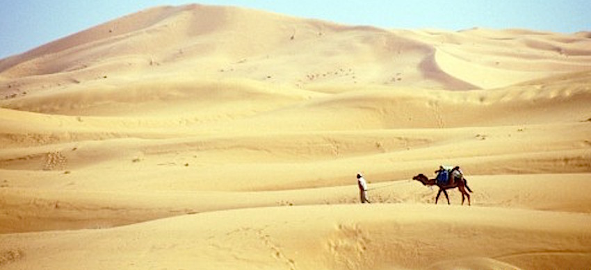 Khalil Sallam: el cartero del desierto