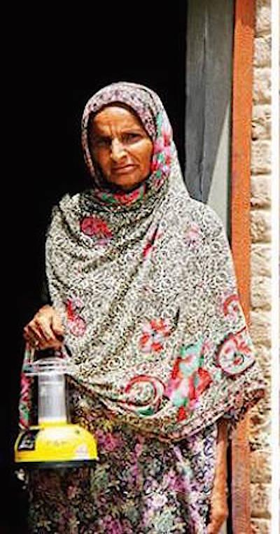 Shamim Bibi : mujer con luz propia