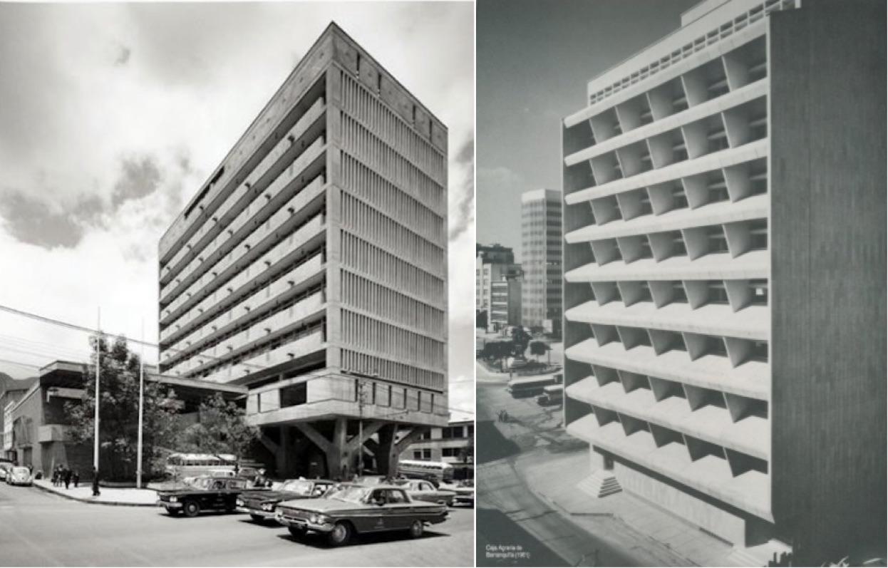 Bogotá y Barranquilla 1961