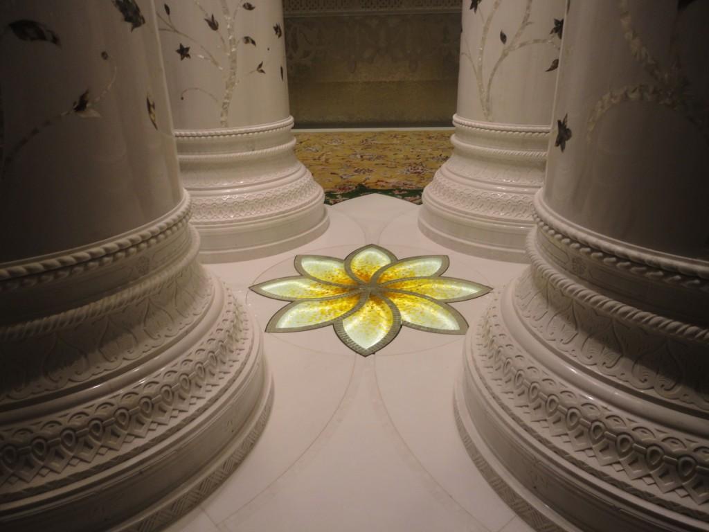 Flor columnas