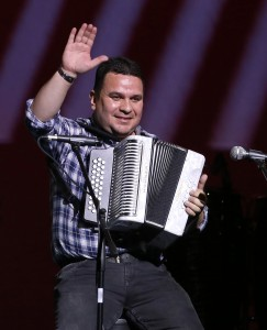 Gustavo Osorio Picón, rey vallenato 2014. Foto: Héctor Fabio Zamora.