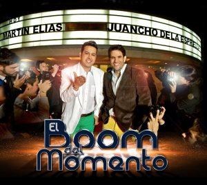 Primer álbum que grabaron Martín Elías y Juancho de la Espriella.