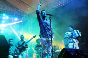 Martín Elías en concierto. Foto: cortesía Prensa Martín Elías.