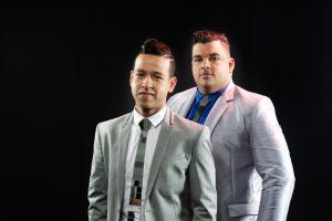 Martín Elías y Rolando Ochoa, sesión fotográfica hecha para la promoción del álbum 'Imparables'. Cortesía: Prensa Martín Elías.