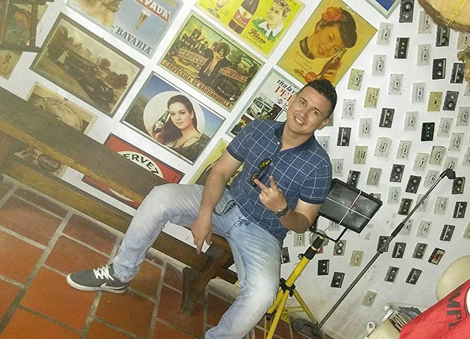 A Jhofred Torres siempre se le veía feliz (Foto tomada de su Facebook).