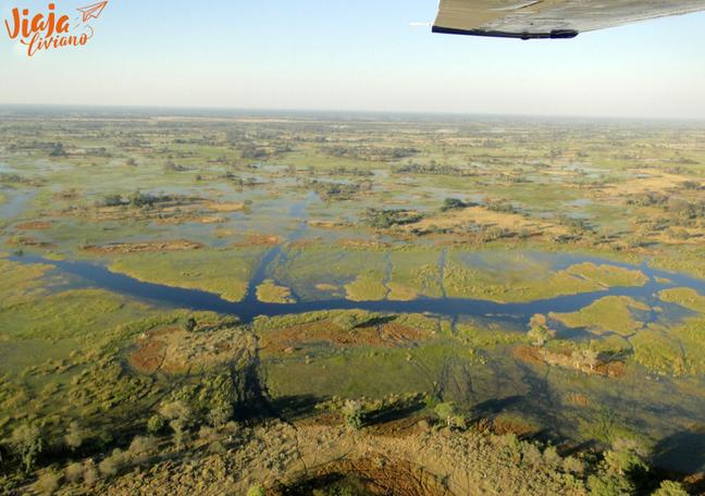 Botsuana Delta del Okavango