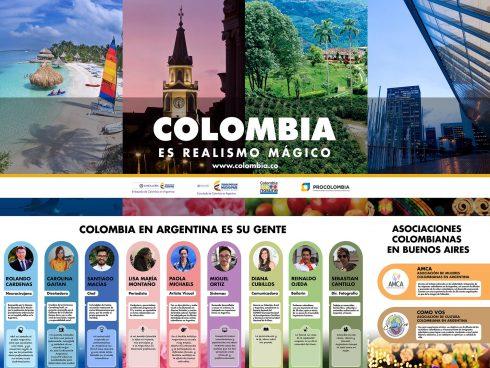Colombianos destacados en argentina