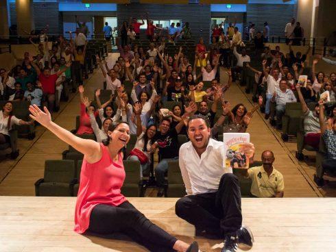 Lanzamiento del libro Renunciar y Viajar (Palmira, agosto 15 de 2017)