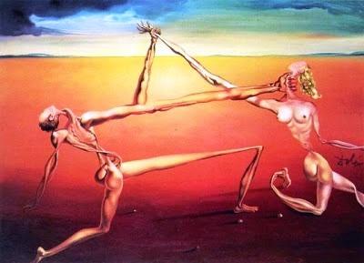 The Dance, Dalí, 1957