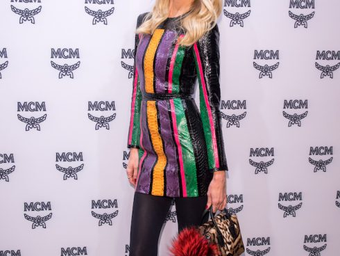 MUNICH, GERMANY - NOVEMBER 17: Model Claudia Schiffer attends the MCM 40th Anniversary event on November 17, 2016 in Munich, Germany. (Photo by Lennart Preiss/Getty Images for MCM)