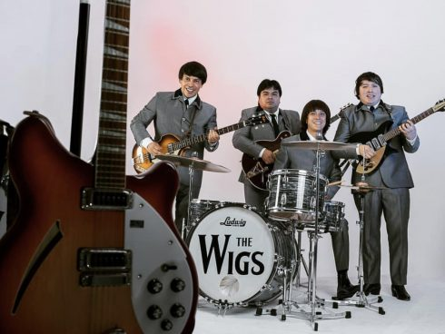 The Wigs, banda tributo a The Beatles. Foto: Cortesía The Wigs.