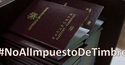 #NoAlImpuestoDeTimbre. Javier Urrea Cuéllar