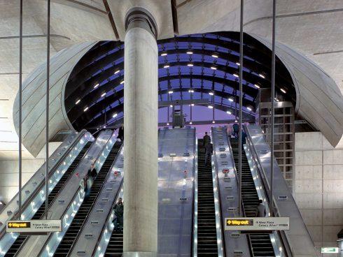 La estación que no vamos a tener: Canary Wharf en Londres