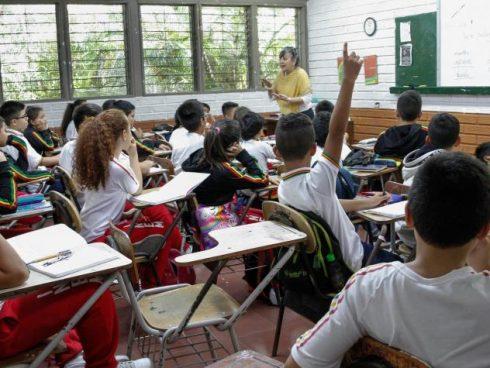 Educación en Colombia. Foto: David Sánchez / Archivo EL TIEMPO.