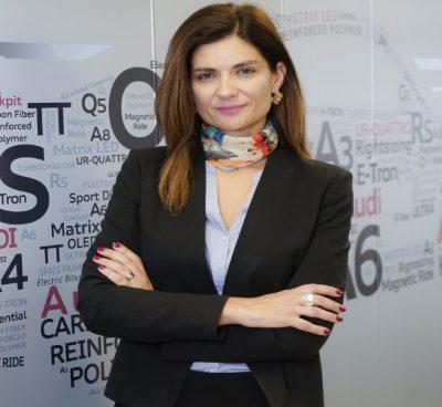 Margarita Quintana, gerente de Audi Colombia. Foto suministrada por Audi Colombia.