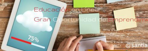Educación en Línea- Oportunidad emprendimiento