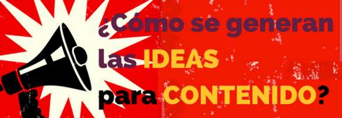 Ideas Para Contenido