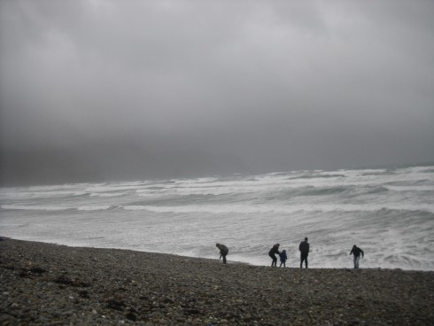 Achill Island on a stormy day. It brings out another sort of wild beauty ...