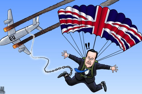 Cameron _ Jumping free of Europe ...