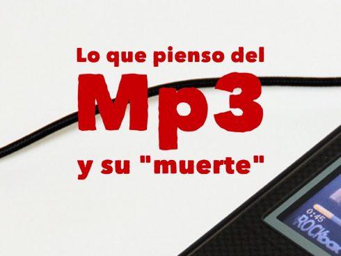 ¿Muere el MP3?
