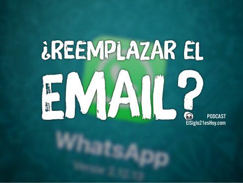 ¿WhastApp en lugar de email?