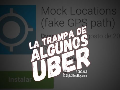 Muñeco en Uber