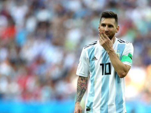 Messi lamenta la eliminación ante Francia en el Mundial de Rusia 2018