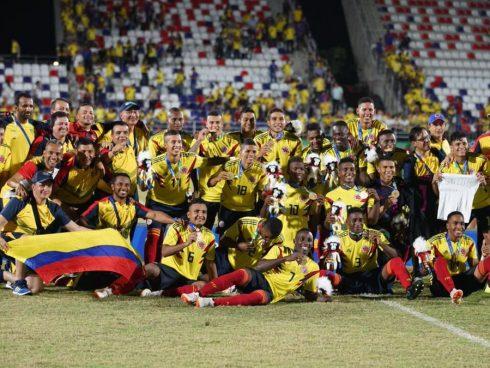 Colombia Sub-21 Centroamericanos y del Caribe Barranquilla 2018
