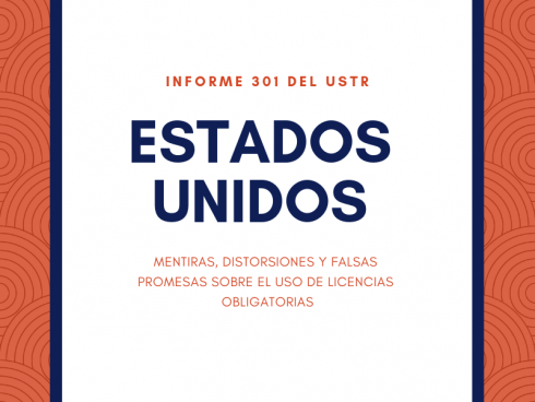 USTR licencias obligatorias USA