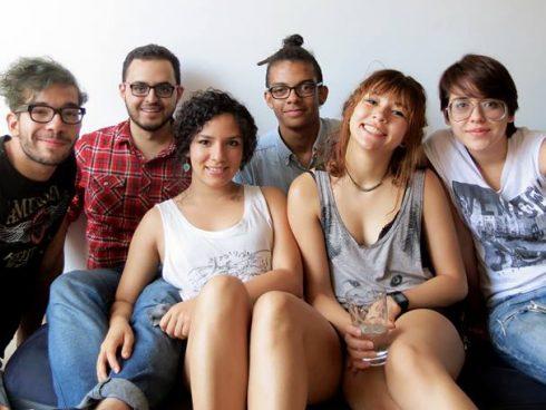 Donney, Alejo, Sara, Jacobo, Ana María y Luisa