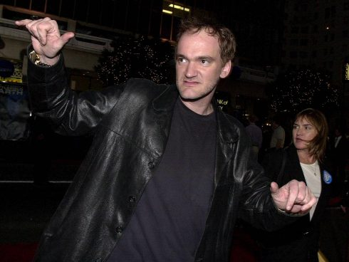 US director Quentin Tarantino. AFP PHOTO LUCY NICHOLSON