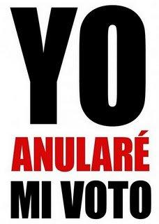 Yo anularé mi voto