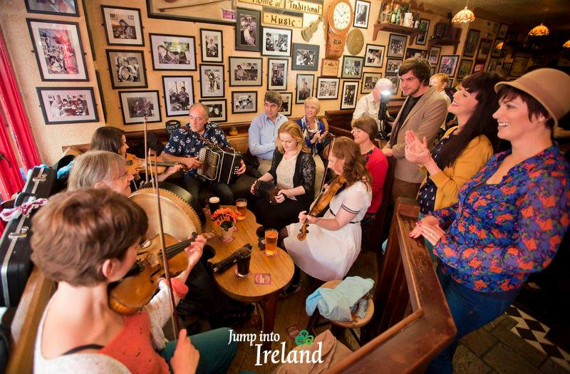 Tourism Ireland Céilí session.